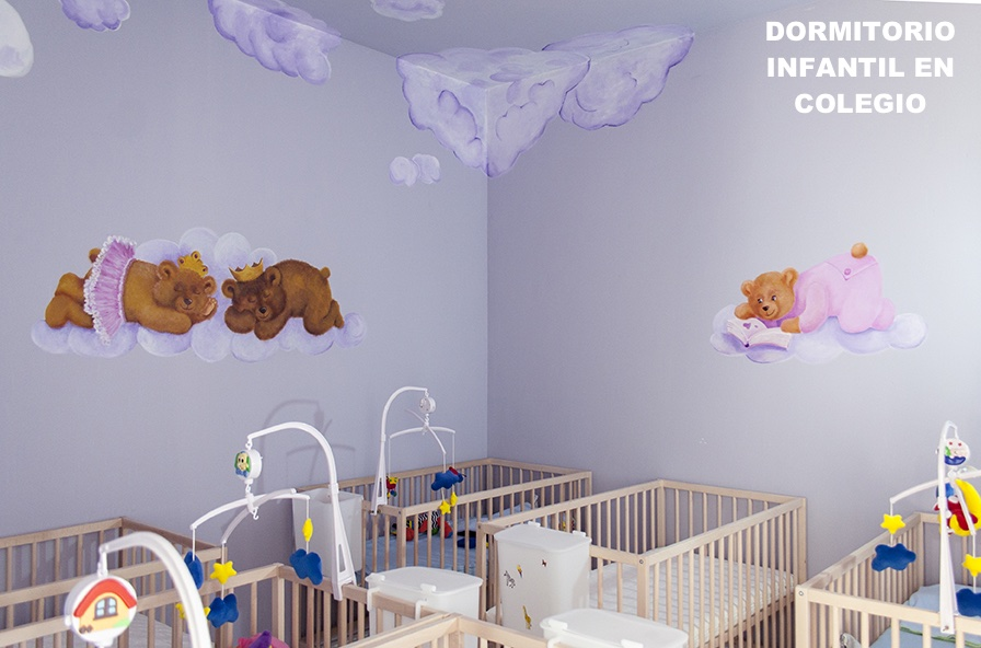 Decoración paredes dormitorio infantil chico